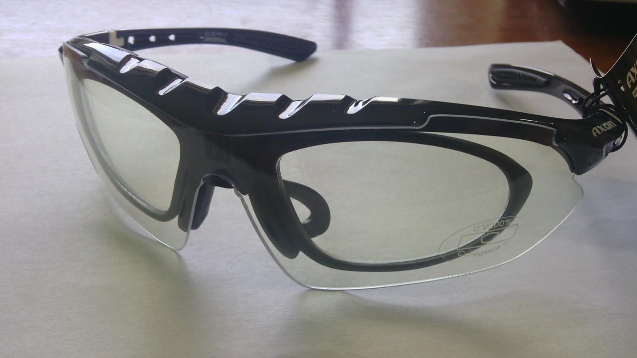 43b7f7616 Cyklistické okuliare | Okuliare AXON UNIVERSAL s dioptrickou obrubou ...